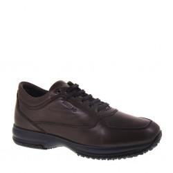 ENVAL SOFT 16894 Sneakers Invernale Uomo in Pelle Marrone Testa di Moro