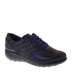 CALLAGHAN 11608 Super Star Bob Navy Sneakers Invernali Donna ADAPTACTION Pelle Blu e Marrone