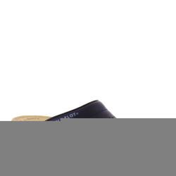 FLY FLOT 63028 Pantofola Sanitario Donna in Pelle Blu traforata