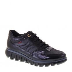 CALLAGHAN 13914 Sneakers Donna Sirena Pelle e Naplack Nero Invernali soletta estraibile