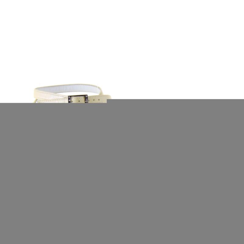 Scarpe Modello Chanel Sposa.Elata S2019 Scarpe Sposa Pelle Avorio Perlato Da Campionario
