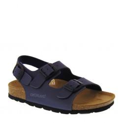 Sandaletti da Bambino in pelle blu – GRUNLAND SB0017 LUCE 92acab528ed