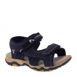 Sandaletti da Bambino in nubuck blu   – LUMBERJACK 07606003 LEVI