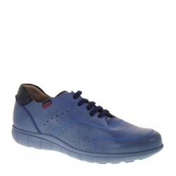 CALLAGHAN 11700 Sneakers estive Uomo in Pelle traforata Blu Jeans ec9dcd904a1