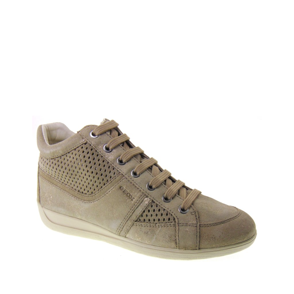 GEOX Myria B D7268B 07722 C6738 Sneakers Donna Estive Traforate color LT  TAUPE afd40c3964c
