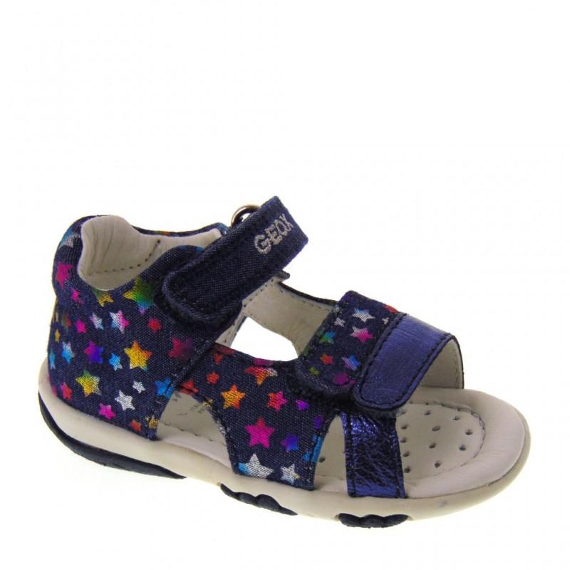 Sandali blu navy per bambina Geox 8xZhwS6dF