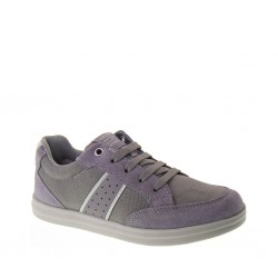 GEOX Junior Sneakers estive Bimbo ANTHOR BOY J723HB01122C0579 in Tela e Camoscio Grigio