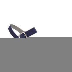 BAROLI 0037 - Sandali classici donna con zeppa 60, in camoscio  blue