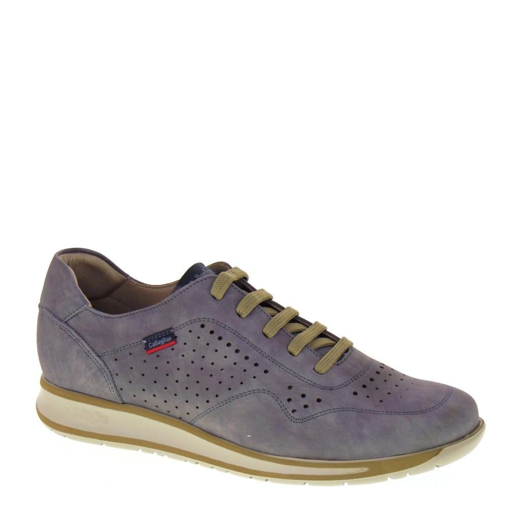 c0747980 CALLAGHAN 88412 Wendigo Astex Gris Sneakers Uomo estive Nubuck Grigio  traforate Sottopiede estraibile ADAPTACTION