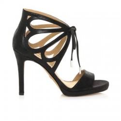 MARIAMARE 66702 Sandali Eleganti Donna Tacco 100 color Nero con Plateau