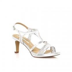 MARIAMARE 66715 C32693 Sandali eleganti Donna Tacco 70 Grigio Argento