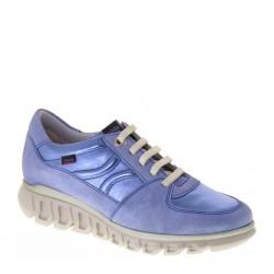 CALLAGHAN 13913 Bunny Cielo Celeste Sirena Sneakers estive Donna in Pelle con Plantare estraibile