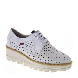 CALLAGHAN 14816 Wars Plata Party Line Sneakers estive traforate in Pelle Argento