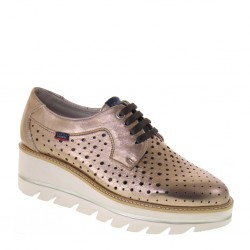 CALLAGHAN 14816 Saffron Rame Party Line Sneakers estive traforate in Pelle Rame