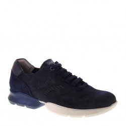 CALLAGHAN 17700 Bondi Azul Aequor Sneakers stringate Uomo in Camoscio Blu