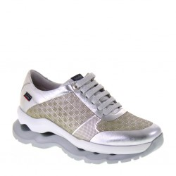 CALLAGHAN 18802 Bohemia Plata Sole Sneakers comode giornaliere in Pelle Argento